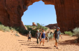 trails in arches national park